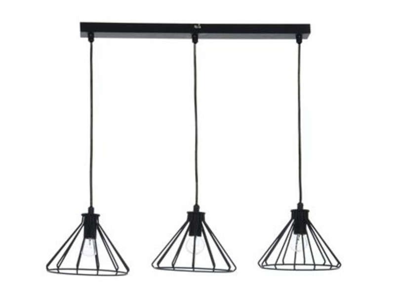 lustre philea coloris noir vente de lustre et suspension conforama. Black Bedroom Furniture Sets. Home Design Ideas