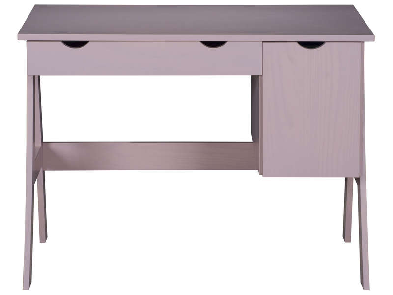 awesome bureau porte tiroir dolly coloris rose vente de bureau conforama with paillasson conforama