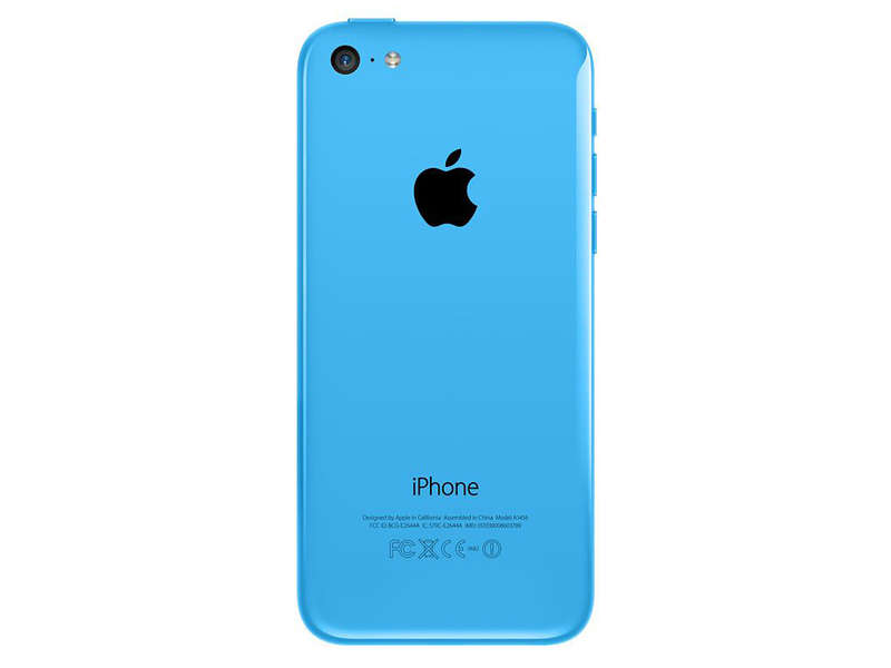 smartphone 4 dual core apple iphone 5c bleu reconditionne grade a vente de apple conforama. Black Bedroom Furniture Sets. Home Design Ideas