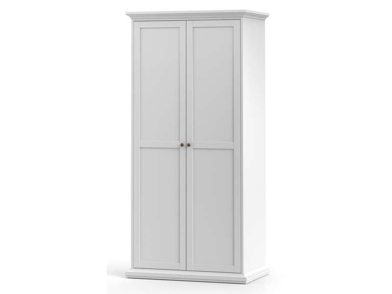 armoire 2 portes battantes harlington vente de armoire conforama. Black Bedroom Furniture Sets. Home Design Ideas