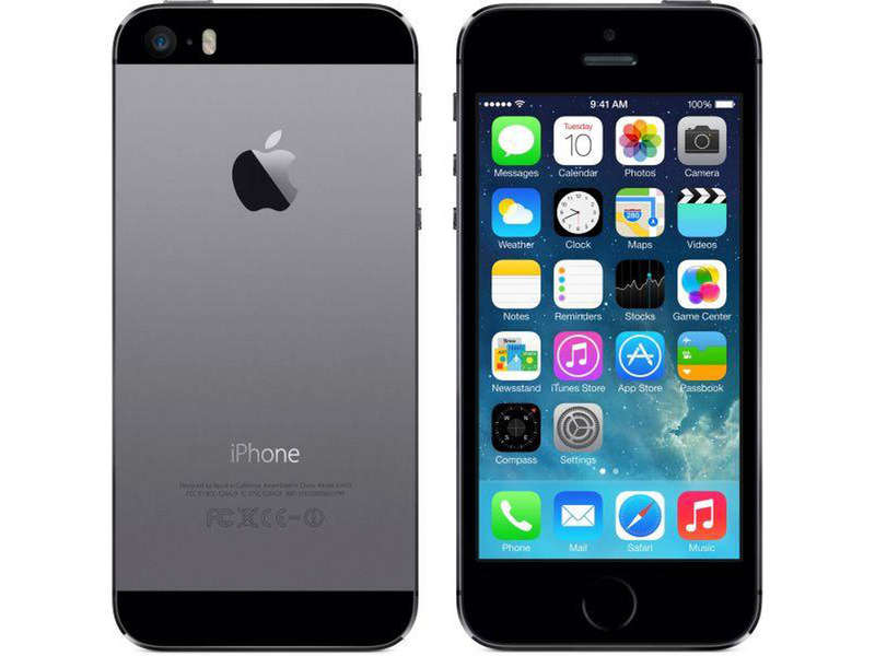 smartphone 4 39 39 dual core apple iphone 5s 16g gray reconditionne grade a vente de t l phone. Black Bedroom Furniture Sets. Home Design Ideas