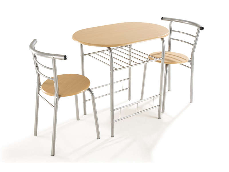Ensemble table et chaises de cuisine duo vente de for Table et chaise de cuisine but
