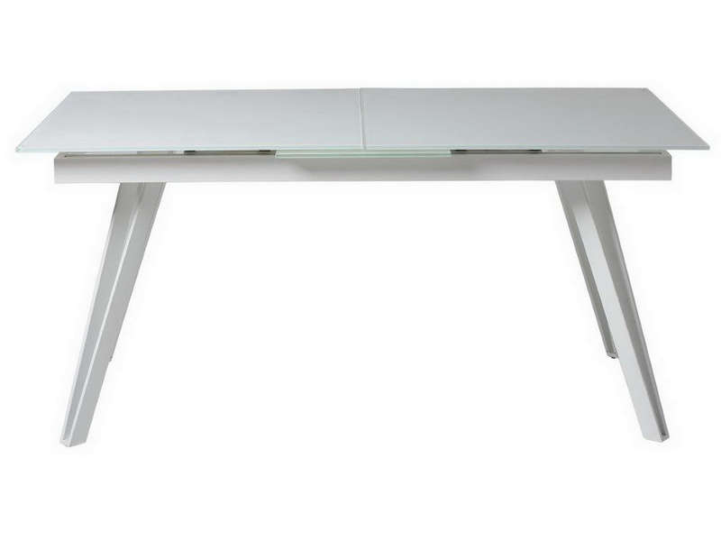 Table rectangulaire avec allonge 200 cm max melissa for Table rectangulaire 160 cm avec rallonge