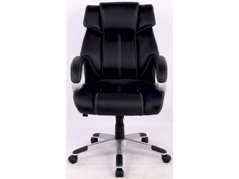 fauteuil de bureau mark coloris noir vente de fauteuil. Black Bedroom Furniture Sets. Home Design Ideas