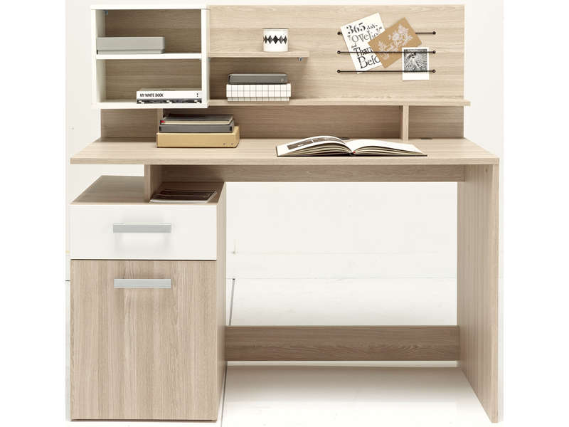 bureau 123 cm malicia vente de bureau conforama. Black Bedroom Furniture Sets. Home Design Ideas