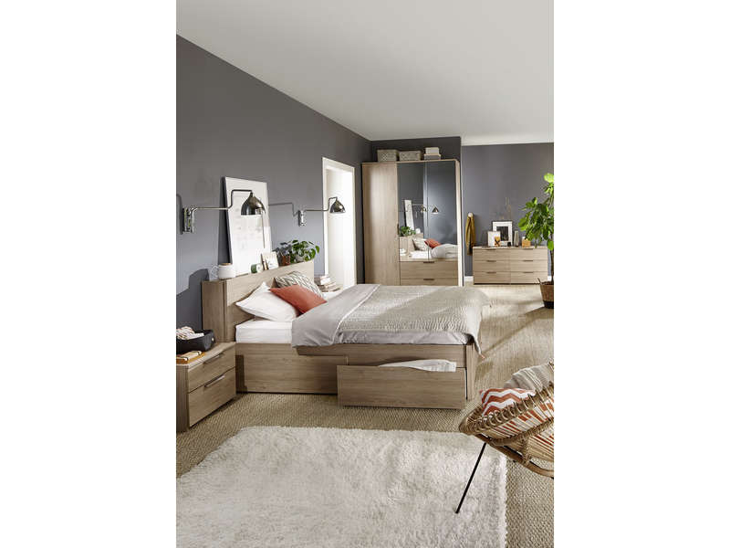 tiroir de lit option rangement tempo 1 vente de tiroir de lit conforama. Black Bedroom Furniture Sets. Home Design Ideas