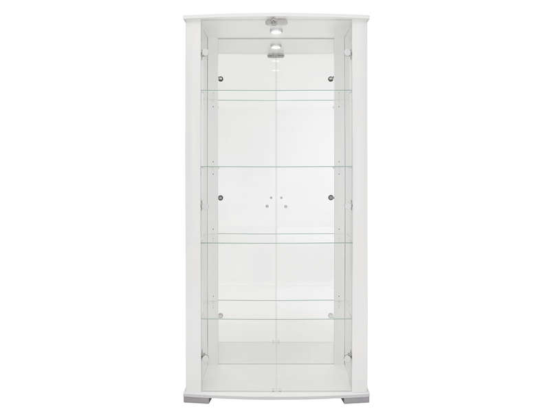 ordinary vitrine en verre conforama 9 vitrine avec serrure stella 2 coloris blanc vente de. Black Bedroom Furniture Sets. Home Design Ideas