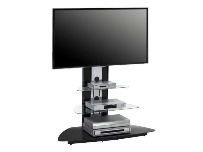 meuble tv 110 cm vente de meuble tv conforama. Black Bedroom Furniture Sets. Home Design Ideas