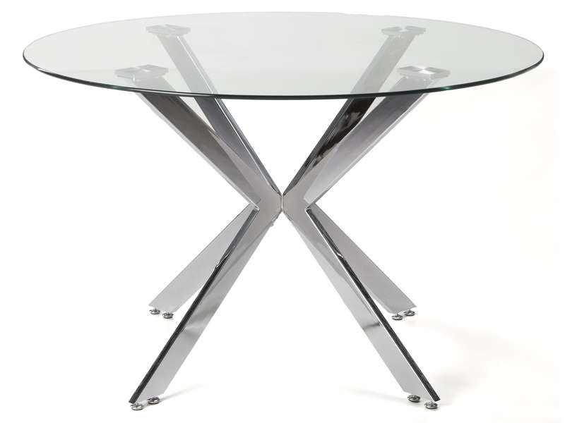 Table ronde 120 cm EVA - Vente de Table et chaises de jardin - Conforama