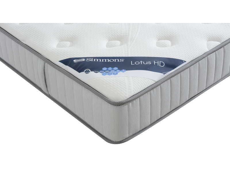 matelas ressorts 140x190 cm simmons lotus hd vente de matelas b b conforama. Black Bedroom Furniture Sets. Home Design Ideas