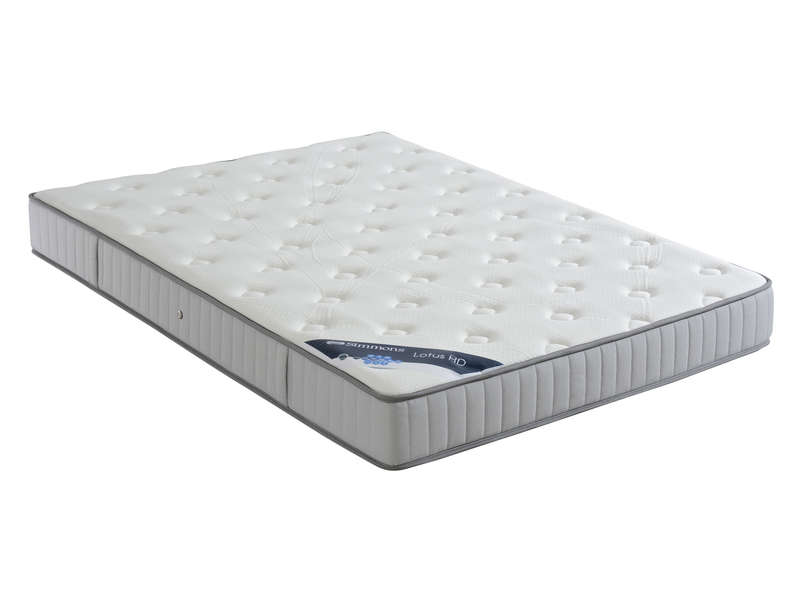 matelas ressorts 140x200 cm simmons lotus hd vente de matelas b b conforama. Black Bedroom Furniture Sets. Home Design Ideas