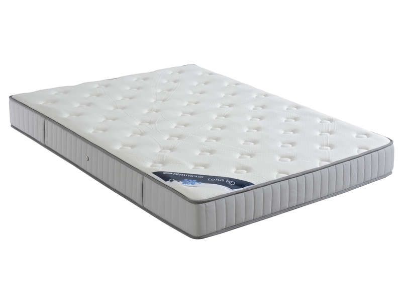 matelas ressorts 180x200 cm simmons lotus hd vente de matelas 2 personnes conforama. Black Bedroom Furniture Sets. Home Design Ideas