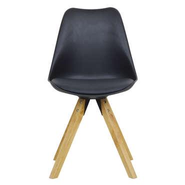 Chaise FOXTROT coloris noir