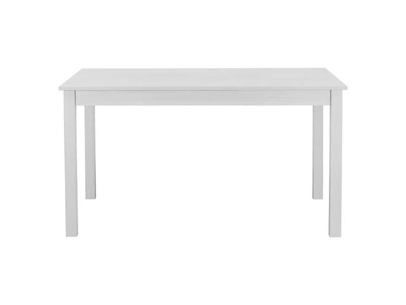 table rectangulaire avec allonge 179 cm max nova coloris blanc vente de table conforama. Black Bedroom Furniture Sets. Home Design Ideas
