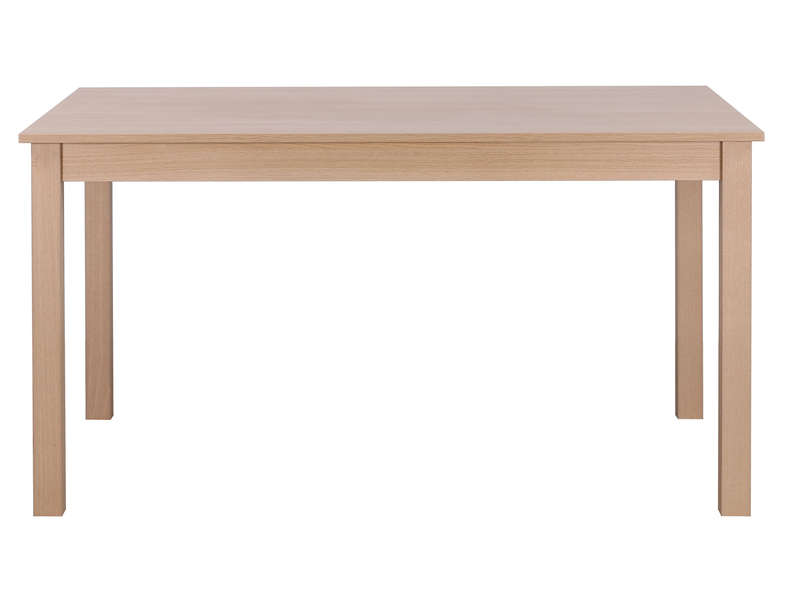 Table rectangulaire avec allonge 179 cm max nova coloris for Table rectangulaire avec rallonge integree