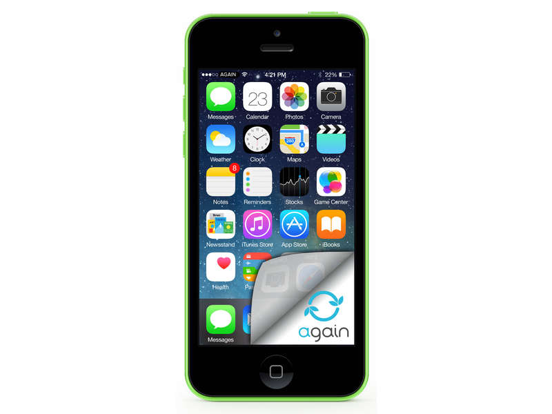 Smartphone 4 '' Dual core APPLE IPHONE 5C 32Go VERT RECONDITIONNE GRADE A