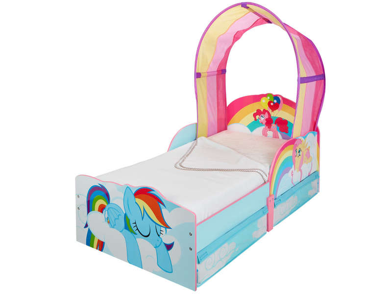 lit fille 70x140 cm my little pony vente de lit enfant conforama. Black Bedroom Furniture Sets. Home Design Ideas