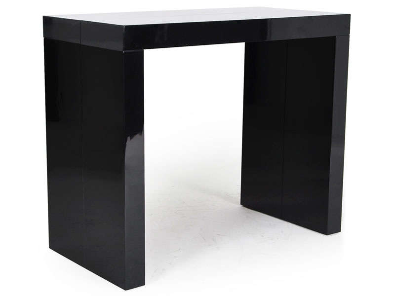 console olga coloris noir vente de console conforama. Black Bedroom Furniture Sets. Home Design Ideas