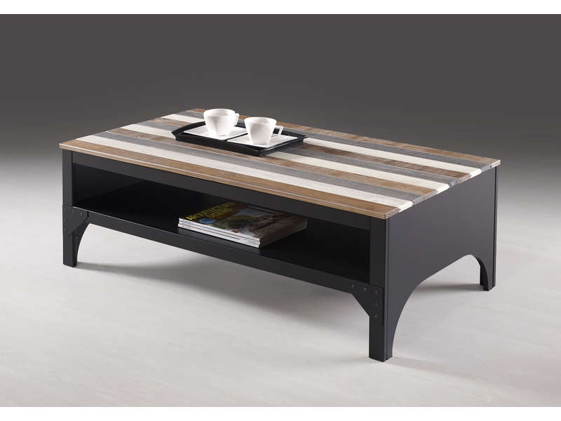table basse rectangulaire turner vente de table basse conforama. Black Bedroom Furniture Sets. Home Design Ideas
