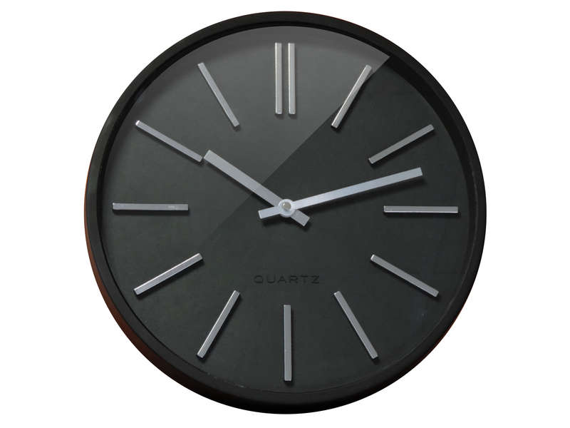 horloge noir 35 cm goma vente de horloge conforama. Black Bedroom Furniture Sets. Home Design Ideas