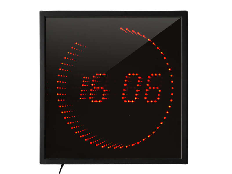 horloge led 3d red vente de horloge conforama. Black Bedroom Furniture Sets. Home Design Ideas