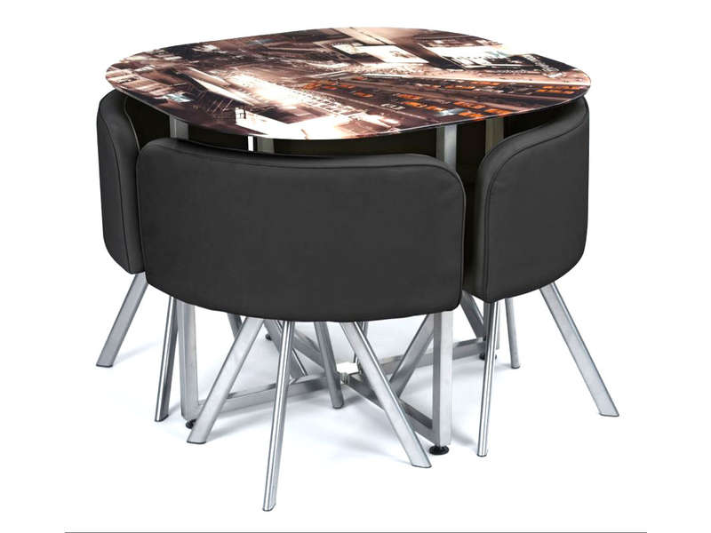 Ensemble table et 4 chaises de cuisine taxi vente de ensemble table et chaise conforama - Ensemble chaise et table ...