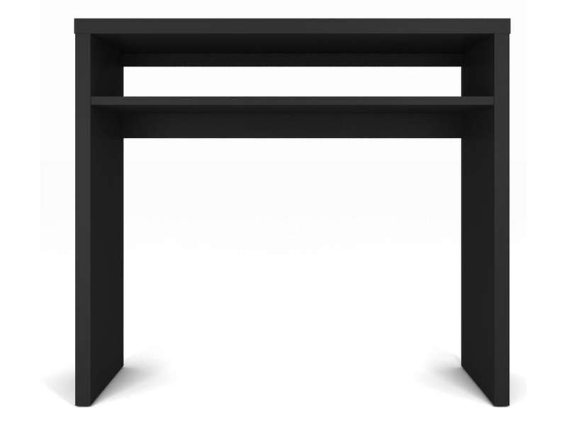 console rectangulaire mojo coloris noir chez conforama. Black Bedroom Furniture Sets. Home Design Ideas