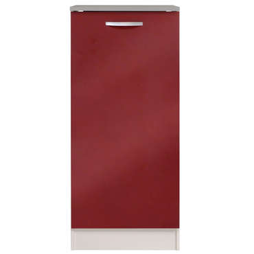 Colonne 60 cm SPOON GLOSSY ROUGE