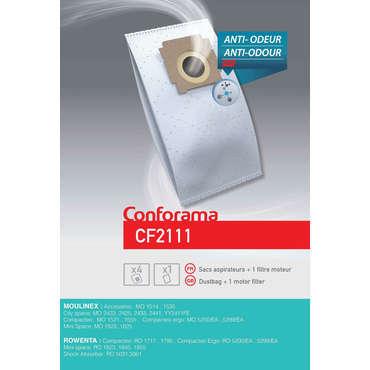 Sac aspirateur CONFORAMA CF2111