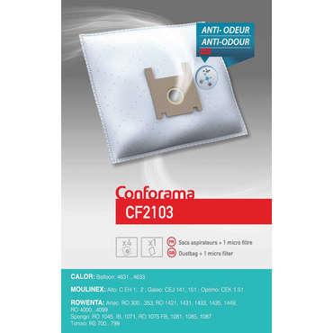 Sac aspirateur CONFORAMA CF2103