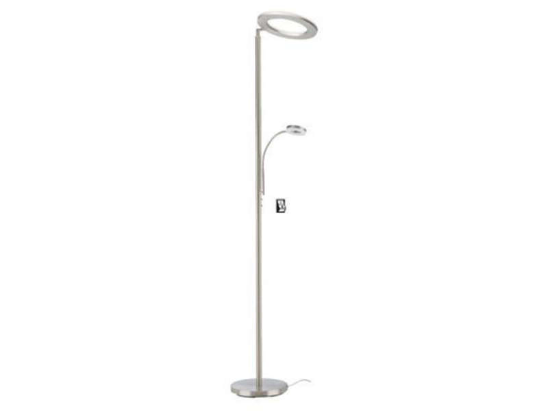 Lampadaire ROUND coloris chrome