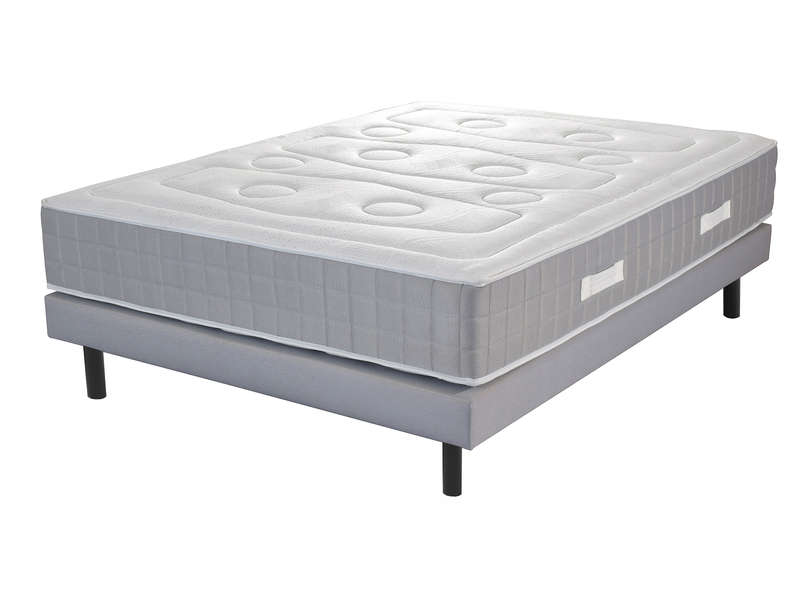 matelas sommier 160x200 cm ressorts volupnight. Black Bedroom Furniture Sets. Home Design Ideas