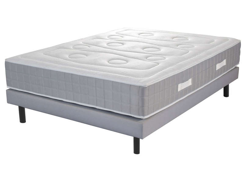 matelas sommier 140x190 cm ressorts volupnight serenity. Black Bedroom Furniture Sets. Home Design Ideas