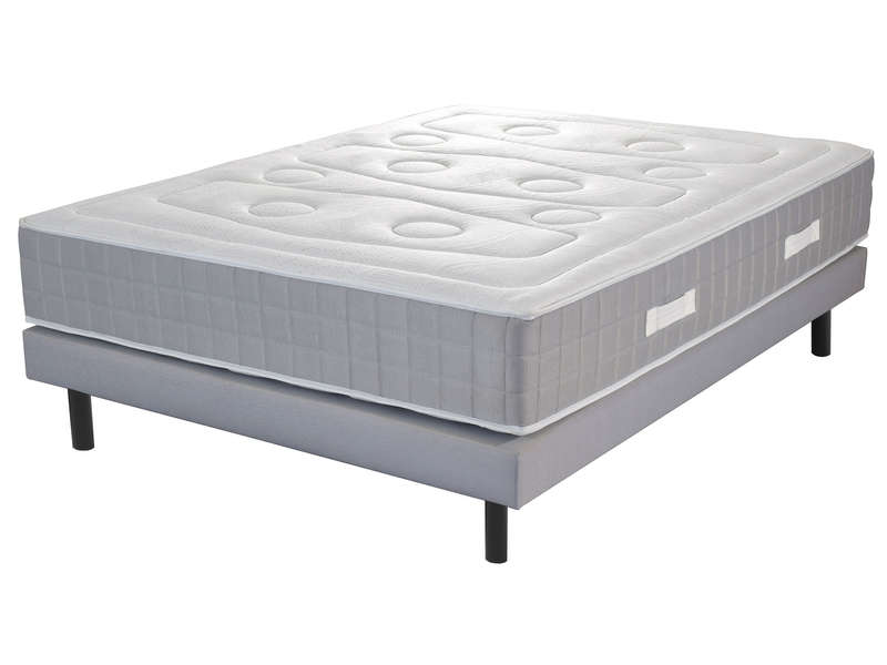 matelas sommier 160x200 cm ressorts volupnight serenity vente de ensemble matelas et sommier. Black Bedroom Furniture Sets. Home Design Ideas