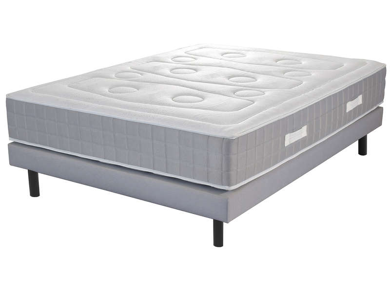 matelas sommier 140x190 cm ressorts volupnight affinity. Black Bedroom Furniture Sets. Home Design Ideas