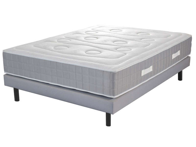 matelas sommier 140x190 cm ressorts volupnight. Black Bedroom Furniture Sets. Home Design Ideas