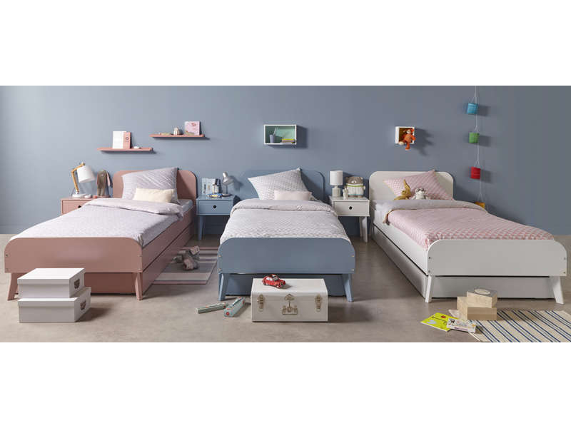 lit simple 90x200 cm axlo coloris blanc vente de lit enfant conforama. Black Bedroom Furniture Sets. Home Design Ideas