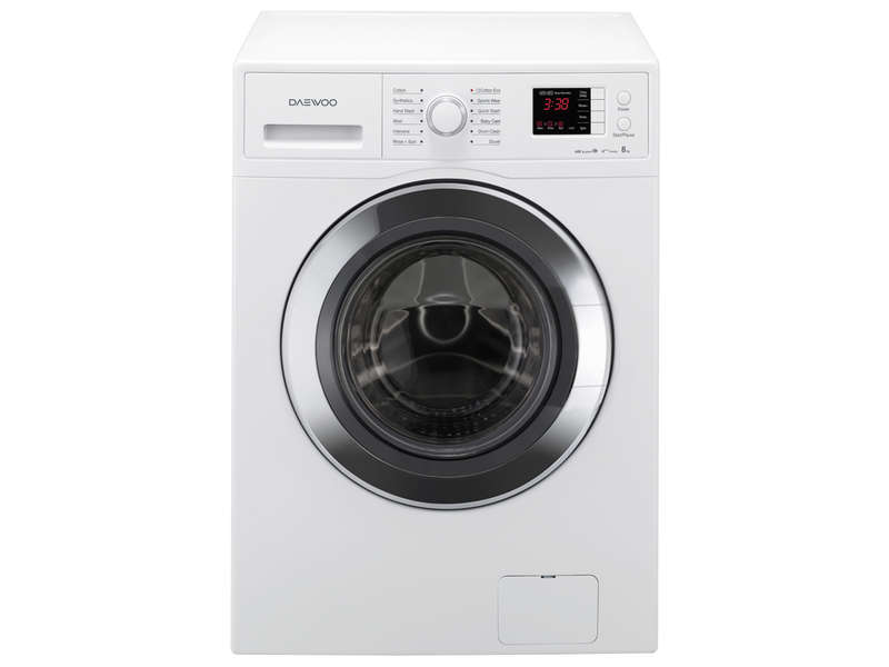 lave linge hublot 8kg daewoo dwd hb8432 vente de daewoo conforama. Black Bedroom Furniture Sets. Home Design Ideas