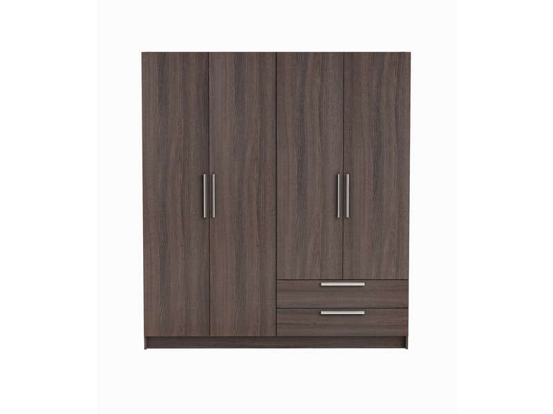 armoire 4 portes glory coloris ch ne vulcano vente de armoire conforama. Black Bedroom Furniture Sets. Home Design Ideas