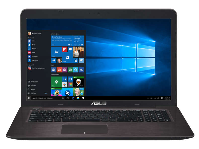 portable asus 17 pouces asus k70io ty002c portable 17 pouces avec geforce gt 120m ordinateur. Black Bedroom Furniture Sets. Home Design Ideas
