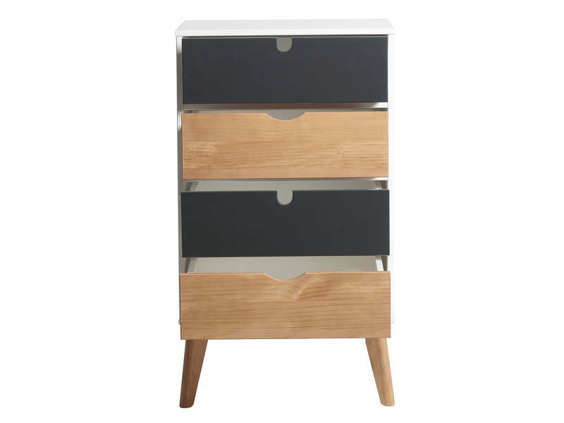chiffonnier kiss vente de chiffonnier conforama. Black Bedroom Furniture Sets. Home Design Ideas