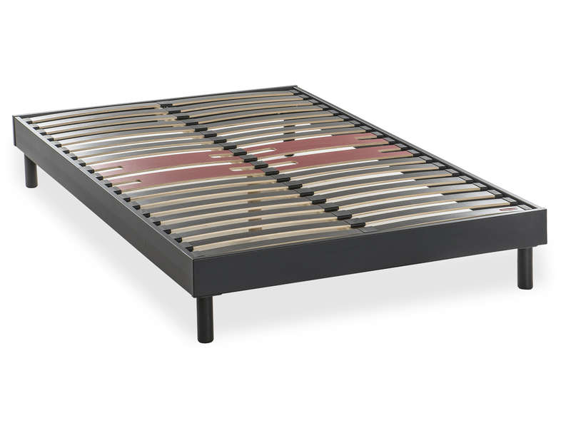 matelas sommier 120x190 stunning sommier dco relaxation electrique coloris merisier x with. Black Bedroom Furniture Sets. Home Design Ideas