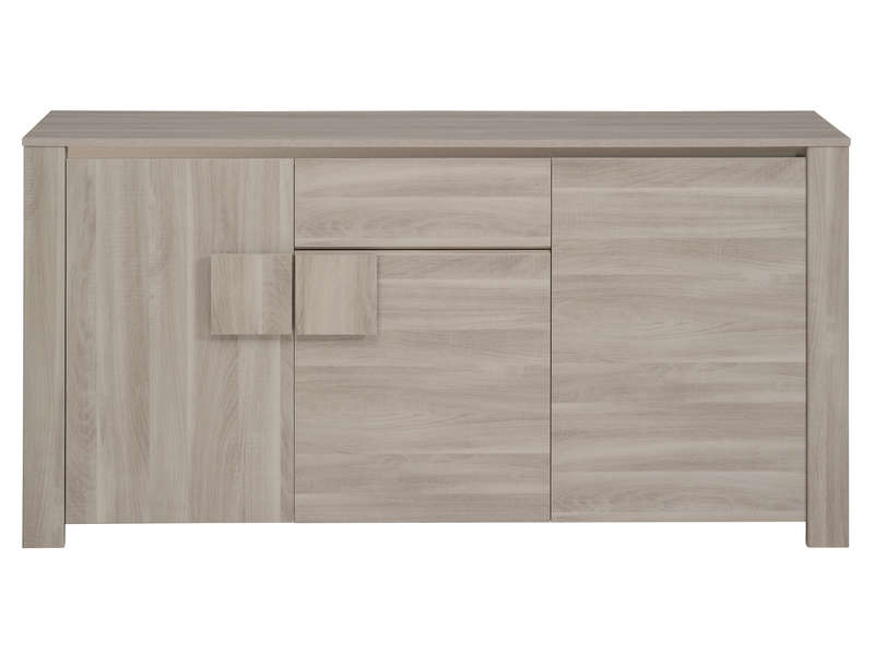 Buffet 3 portes warren silex chez conforama for Meuble warren silex