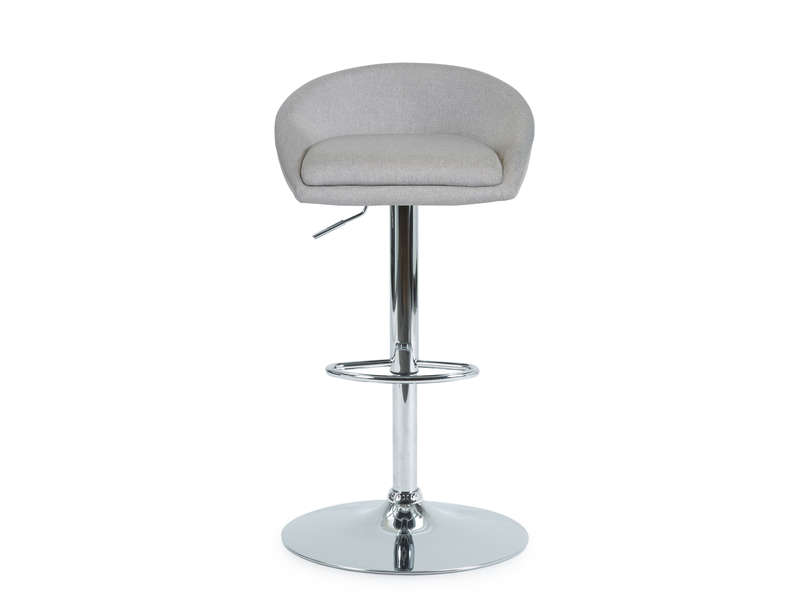 tabouret de bar davy coloris gris vente de chaise de jardin conforama. Black Bedroom Furniture Sets. Home Design Ideas