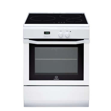Cuisinière à induction 60 cm INDESIT IC63I6C6AWFR