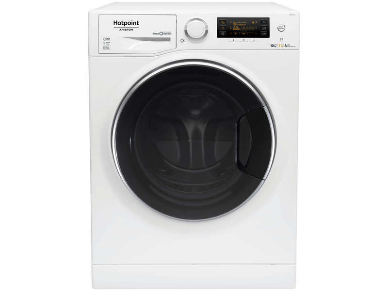 lave linge s chant 10kg hotpoint ariston rdpd107617jd eu. Black Bedroom Furniture Sets. Home Design Ideas