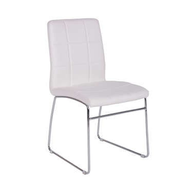 Chaise BAYA coloris blanc