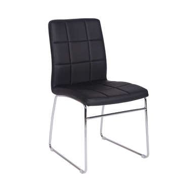 Chaise BAYA coloris noir