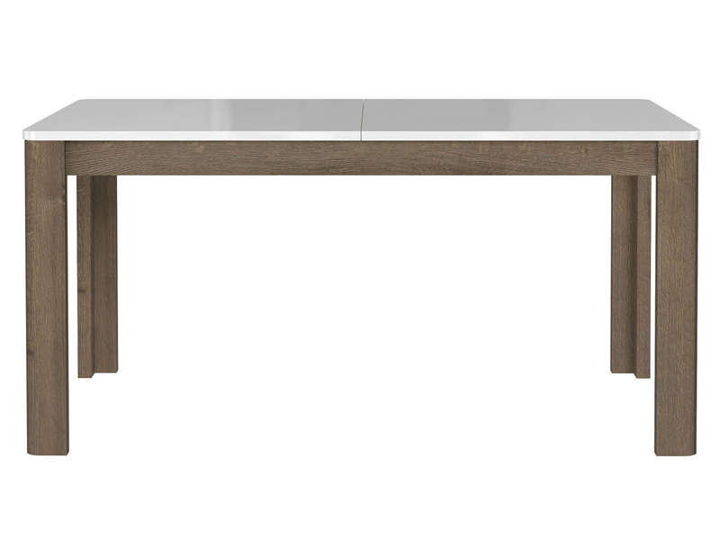Table Rectangulaire Avec Allonge L 206 6 Cm Max Urano Coloris