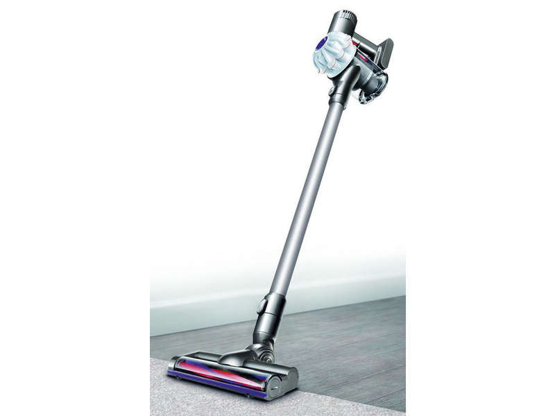 aspirateur balai rechargeable dyson v6 slim epro chez conforama. Black Bedroom Furniture Sets. Home Design Ideas